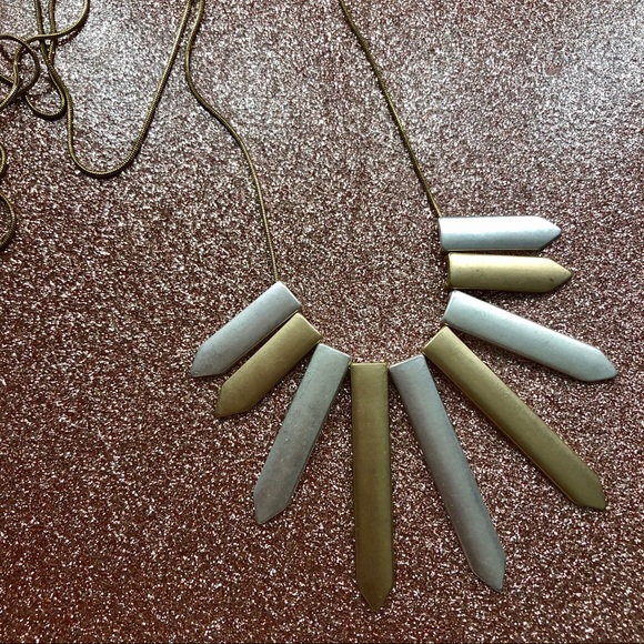 torrid Jewelry - Matte Gold $ Silver Necklace